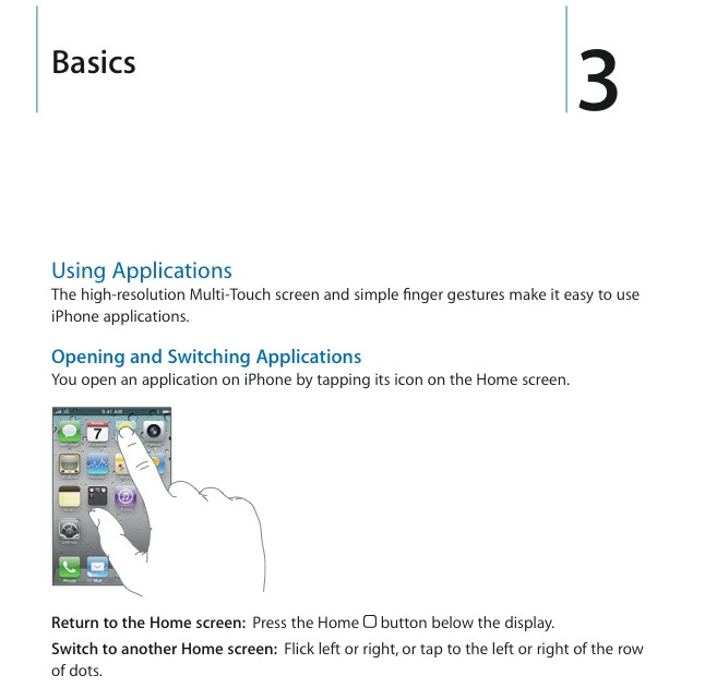 User Guide for iPhone 4 and iOS 4 Now Online - MacStories