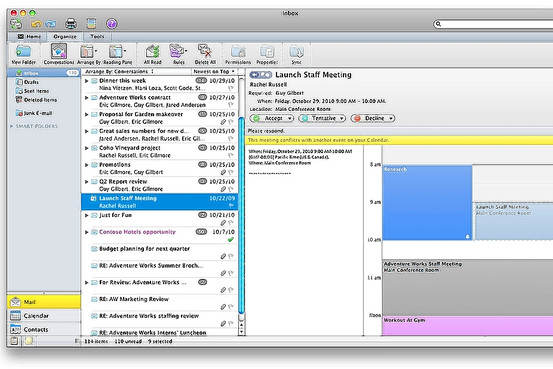 Walt Mossberg Loves The New Outlook for Mac - MacStories