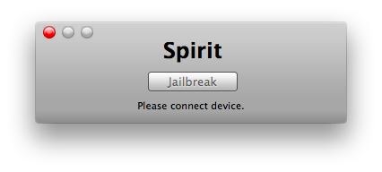 Jailbreak the iPad With Spirit for Mac And Install Your First Cydia